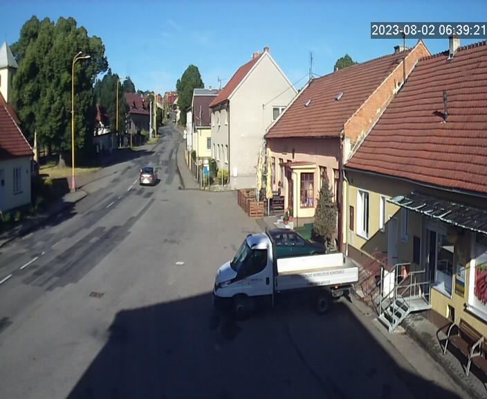 Stare Hradisko - pohled kamery