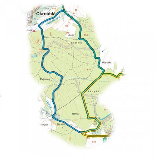Velenovský okruh<br>(8,5 km)