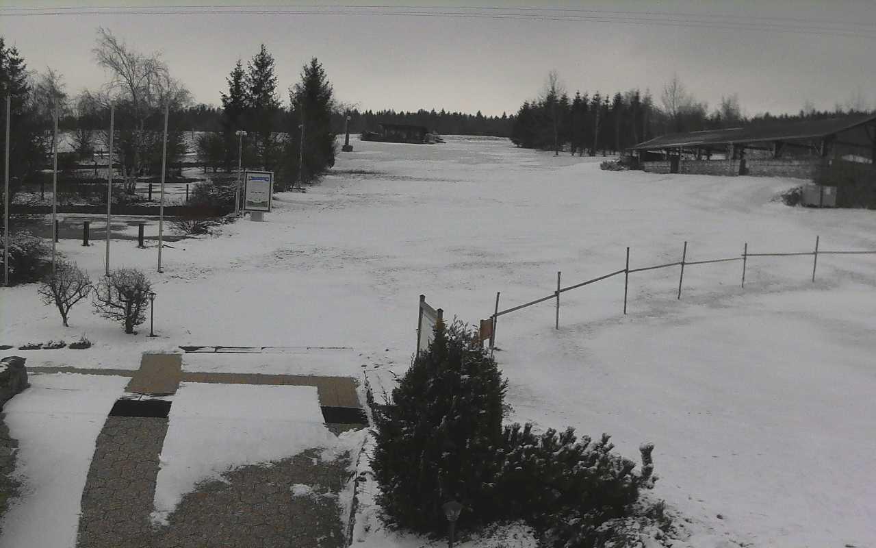 Sněhová nadílka přišla...nestačí to !
