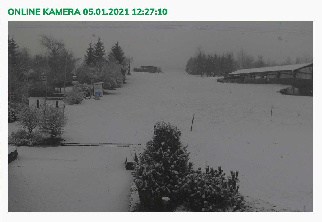 Informace o sněhových podmínkách